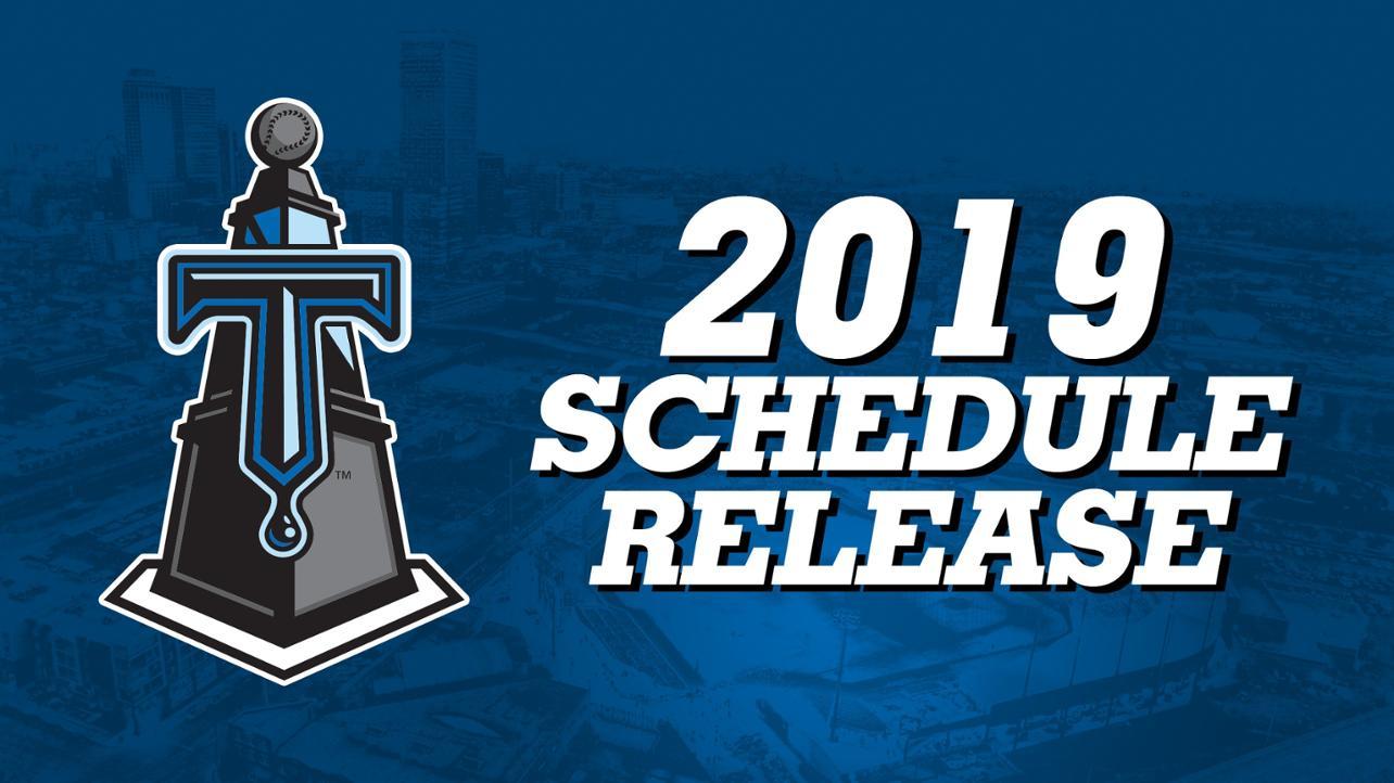 2019 Schedule Release MW