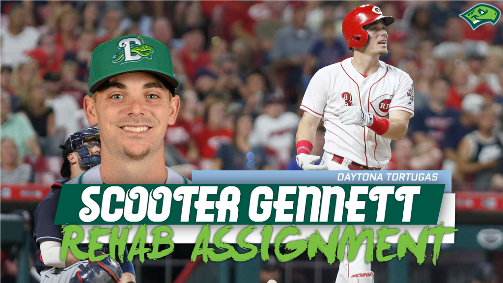 Scooter Gennett to join Tortugas on rehab assignment