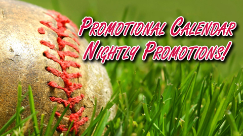 Promotional Calendar Part 5: Nightly Promotions!