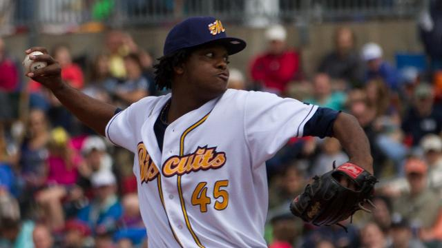 Mateo Continues Dominance of Suns | Montgomery Biscuits News