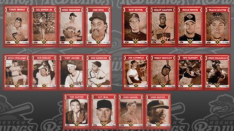 The 2014 Red Wings Legends card set