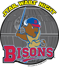 Bisons Star Wars Night