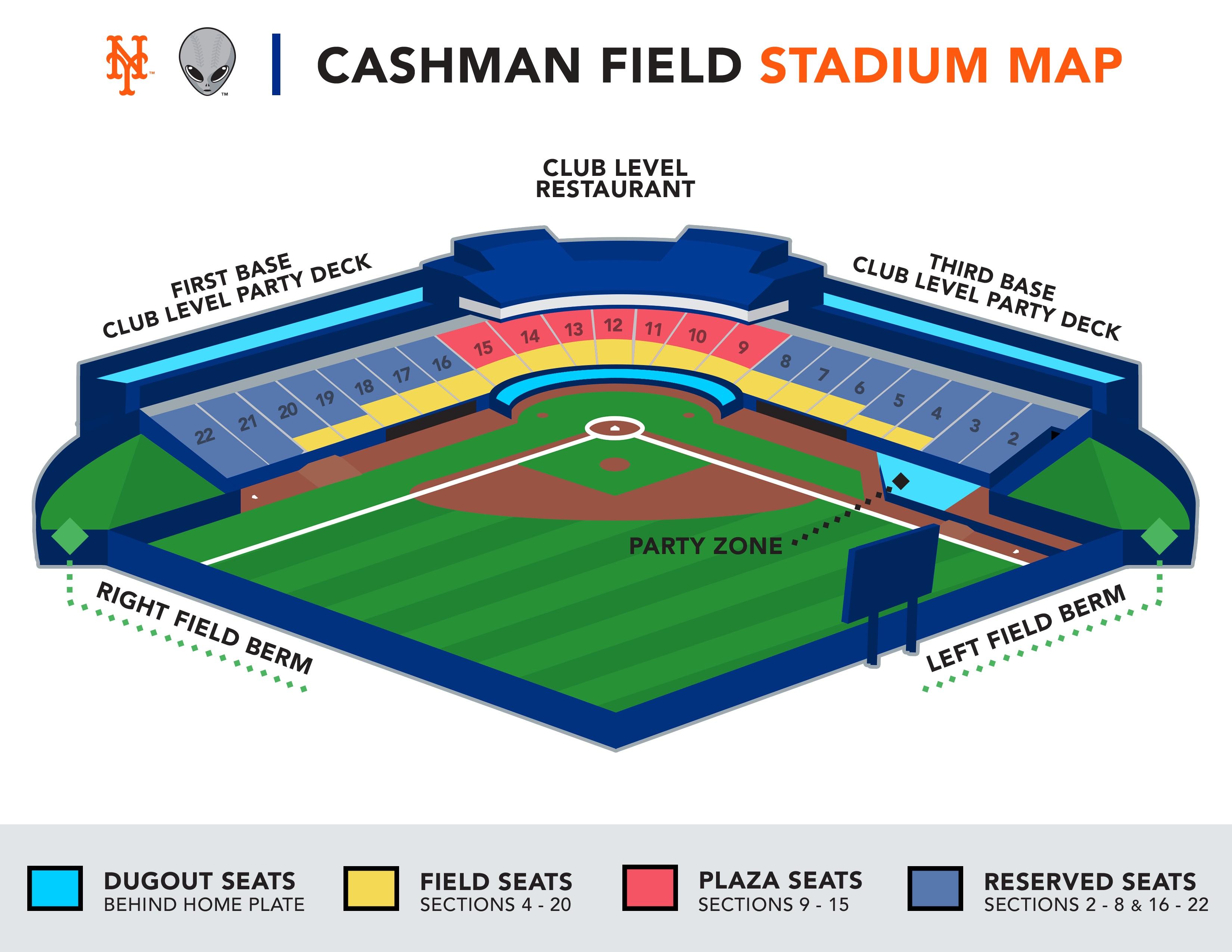 Cashman field stadium map las vegas aviators tickets