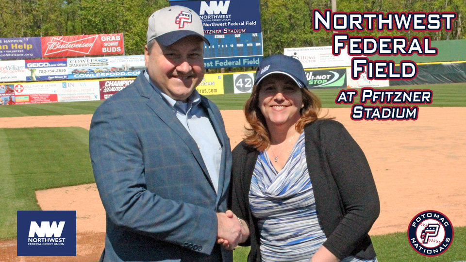 Nw Federal Credit Union >> P Nats Announce Field Naming Rights Partnership With