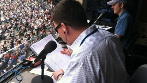 Smokies DIrector of Broadcasting Mick Gillispie will call 23 Cubs Spring Training games this year.