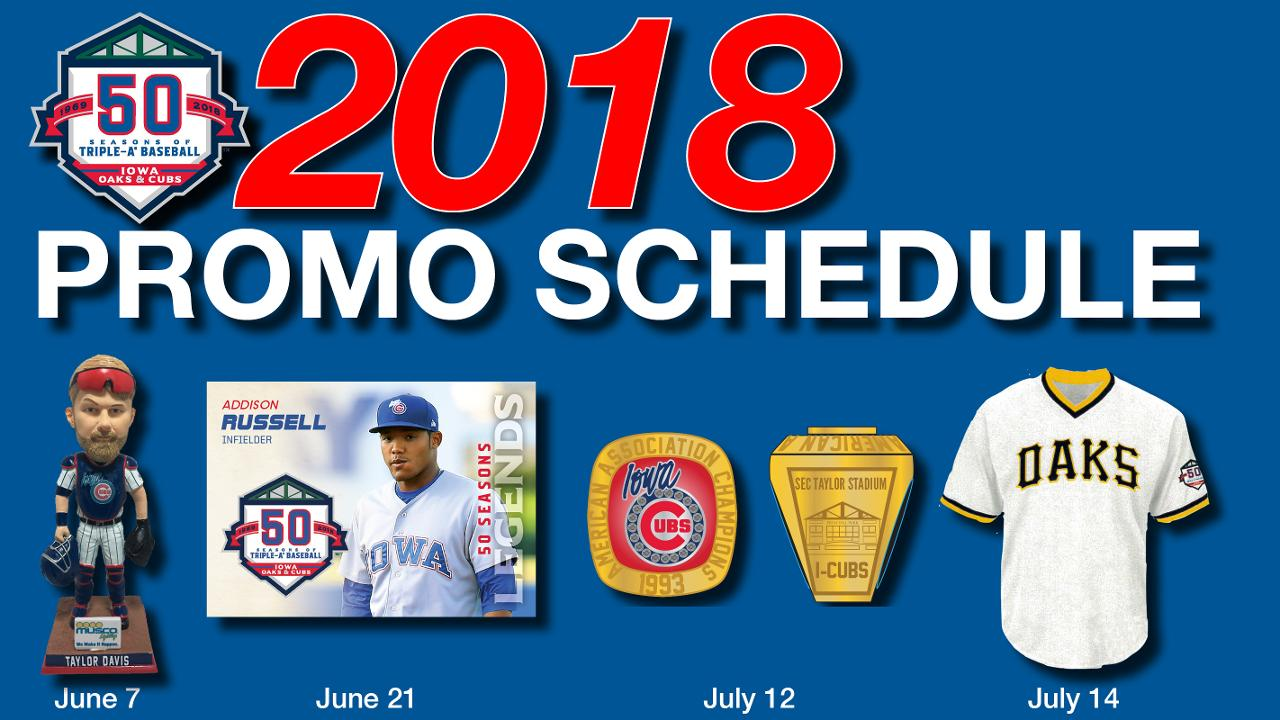 7178e926ef0fc0 Iowa Cubs Release Promotional Schedule | Iowa Cubs News