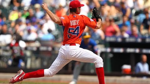 Jesse Biddle posted 1 1/3 scoreless innings for the U.S. team.