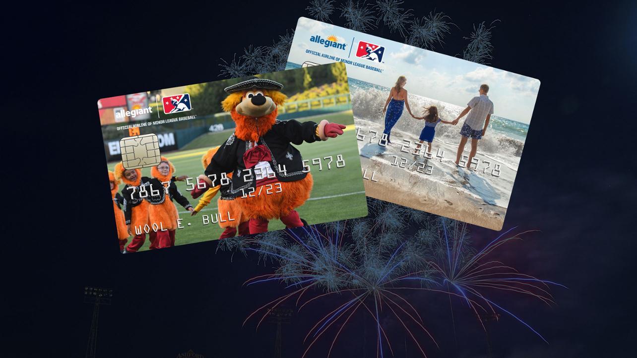 MiLB, Allegiant launch credit card partnership