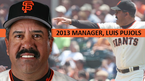 Luis Pujols was named the 12th manager in the history of the Shorebirds franchise