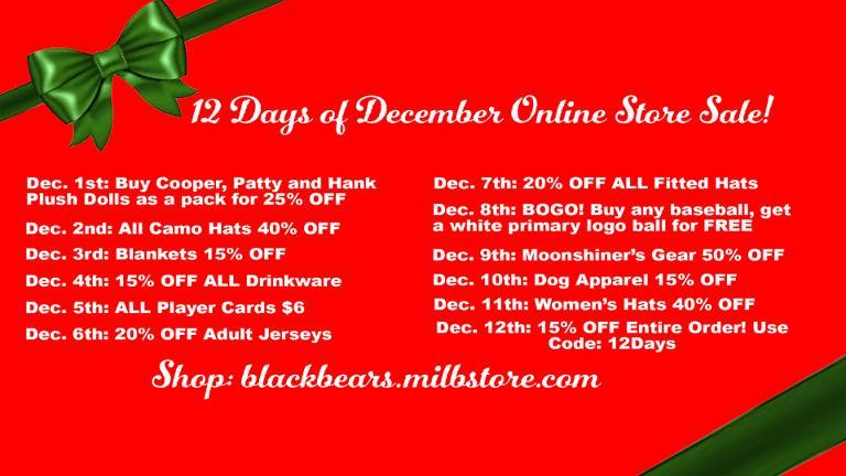 12 Days of December