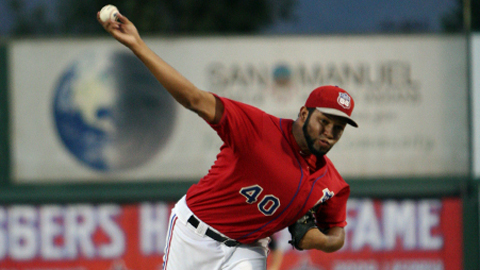 Orangel Arenas has a 1.80 ERA in 15 playoff innings for the 66ers.