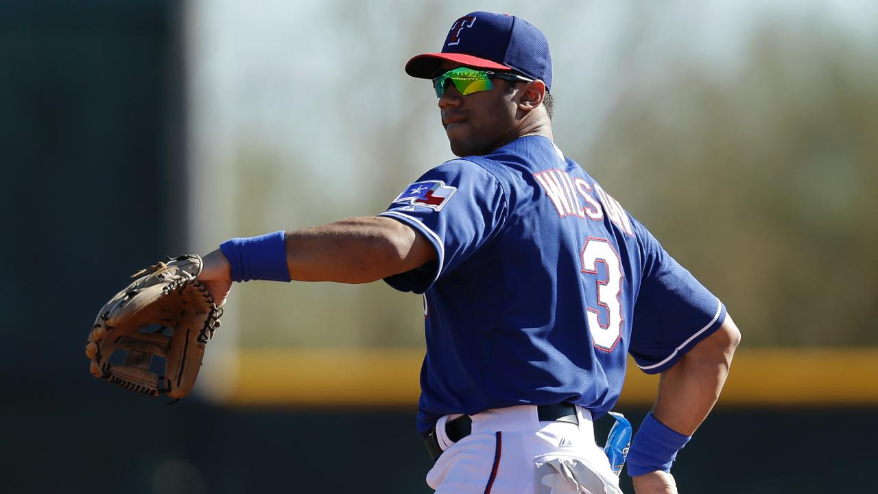 81212db0405e0 Russell Wilson went to Spring Training with the Texas Rangers in March  2014. He ll join the Yankees next month. (Mike McGinnis Getty Images)
