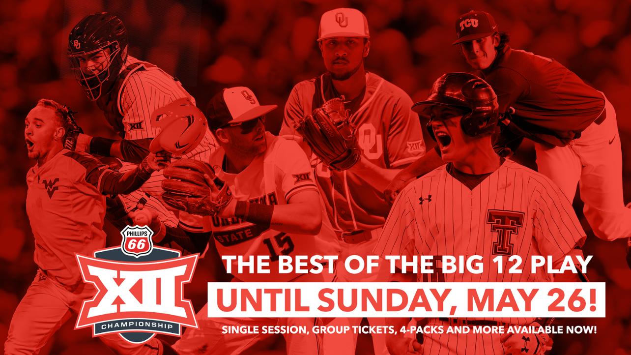 Big 12 Single Session Tickets On Sale