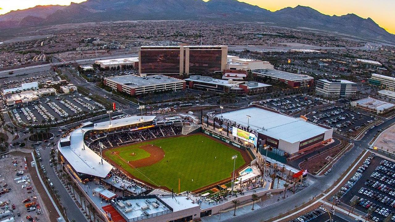 Las Vegas Ballpark® wins BaseballParks.com's 20th Annual Ballpark of the Year Award!