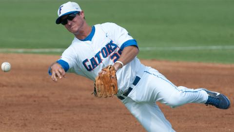 Cody Dent was taken by the Nationals in the 20th round out of Florida in 2013.