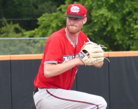 Cameron Roegner sports a Carolina League-leading 0.68 ERA.