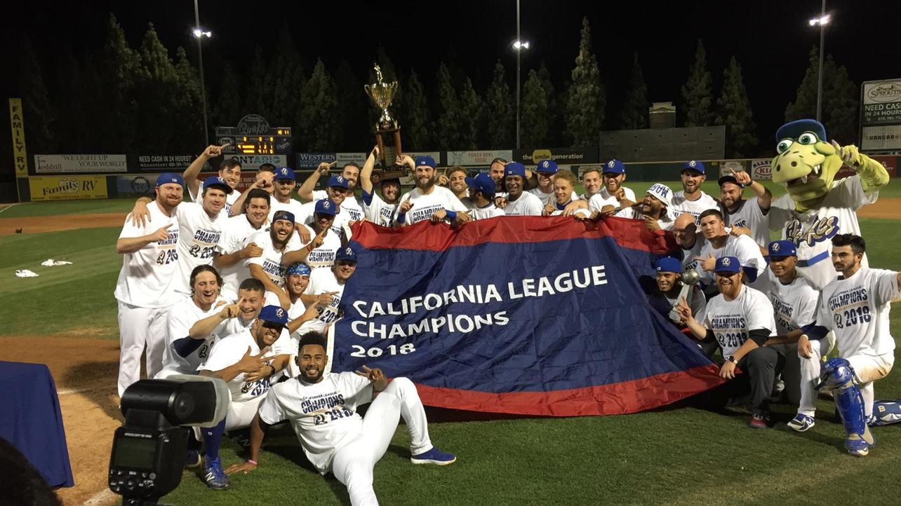YOUR QUAKES ARE CAL LEAGUE CHAMPIONS!
