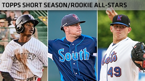 Raimel Tapia (Rockies), Jeremy Sy (Giants) and Chris Flexen (Mets) are among the All-Star selections.