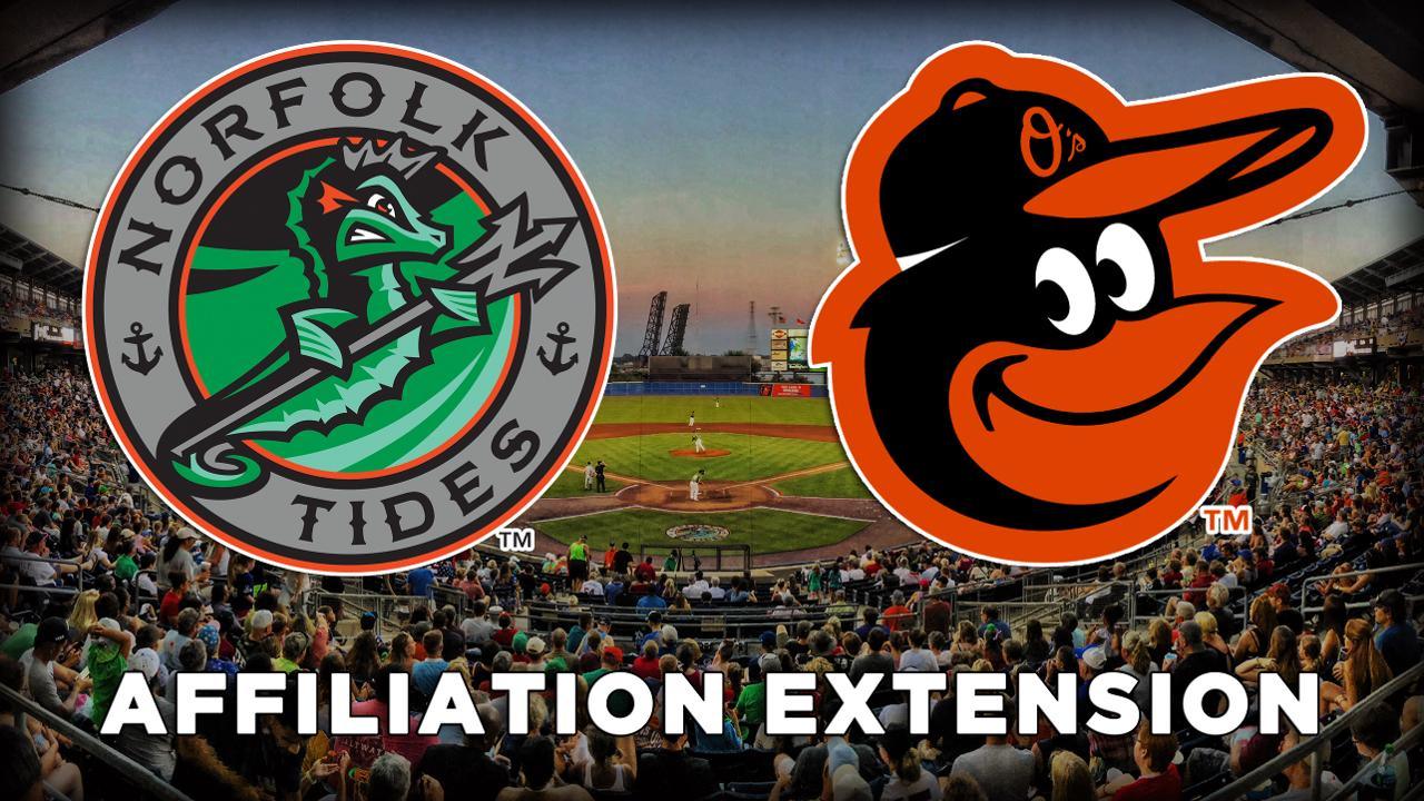 Tides and Baltimore Orioles extend affiliation | Norfolk