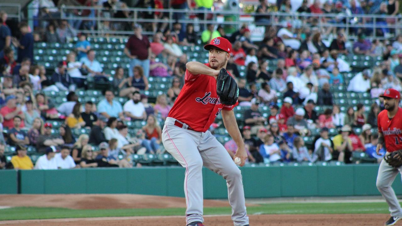 Bats Fall To Indians 7 0 Louisville Bats News