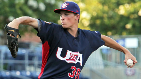 Max Fried struck out 17 hitters over 17 2/3 innings in the Arizona League last summer.