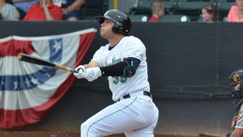 Alex Jackson was traded to the Atlanta Braves in a three player trade after spending the majority of his 2016 season in Clinton.