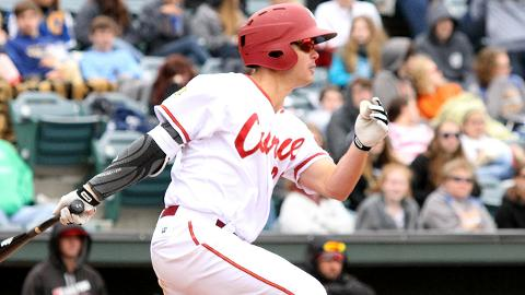 A second-round pick in 2015, Kevin Kramer has hit .284 over three seasons in the Minor Leagues.