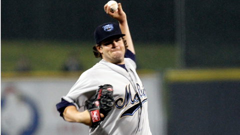 David Holmberg ranks seventh in the Southern League with a 2.45 ERA.