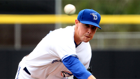 Aaron Sanchez improved to 4-5 with Thursday's victory.