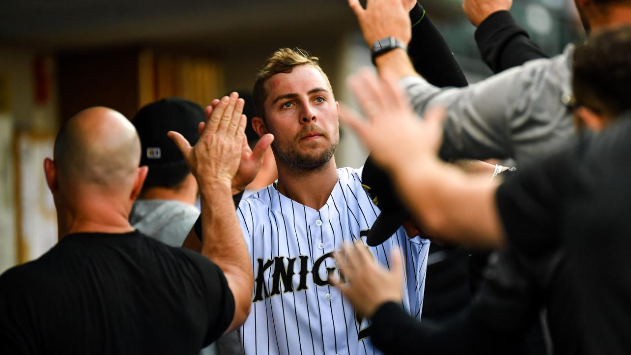 Seven-Run First Pushes Knights Past Toledo 9-6