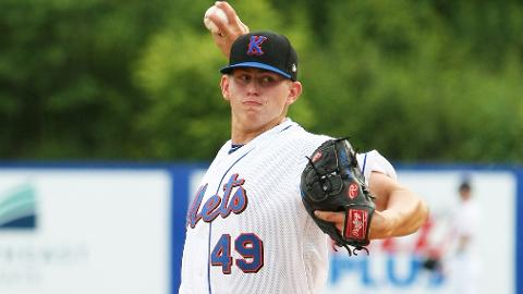 Chris Flexen ranks third in the Appy League with 31 strikeouts in 28 innings.