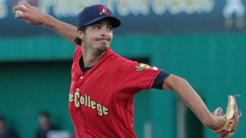 Andrew Pierce was 2-2 with a 2.11 ERA over 42 2/3 innings this season.