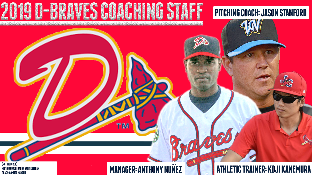 a7f2904272a2 D-Braves Announce 2019 coaching staff