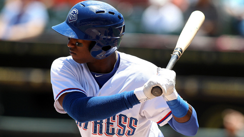 Jurickson Profar is on a 9-for-16 tear over four games.
