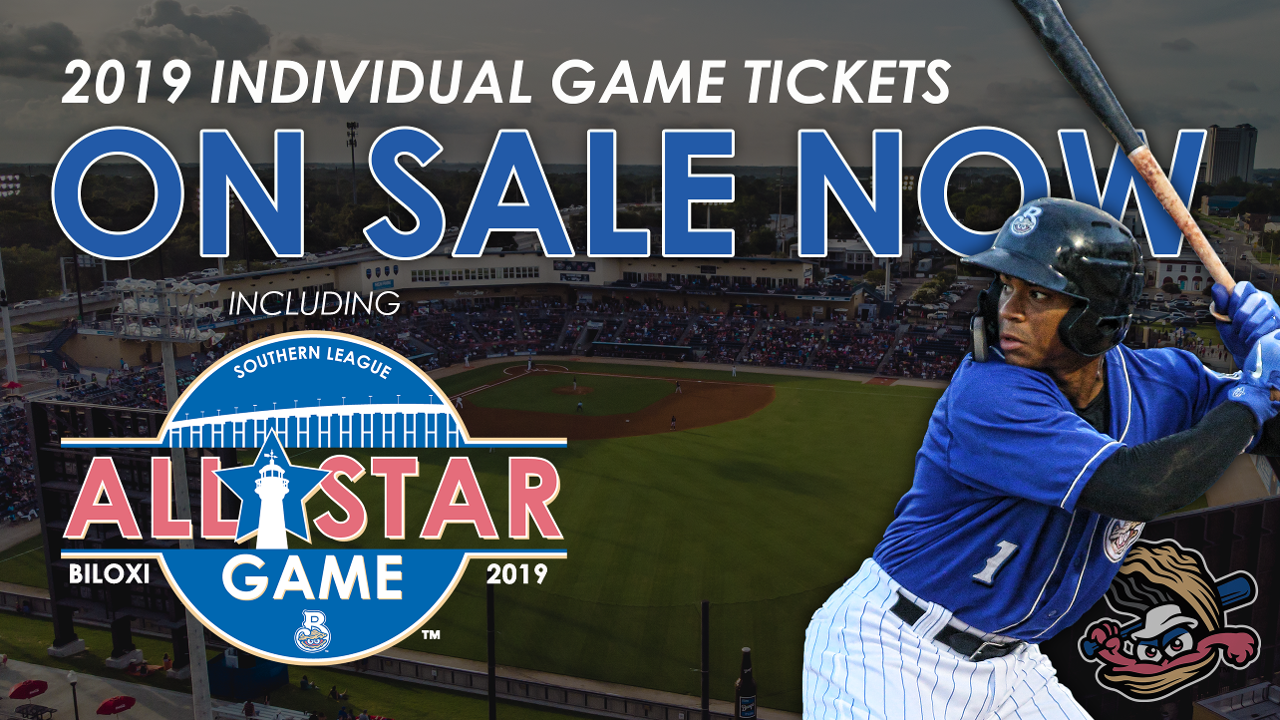 Individual Tickets For Shuckers Games On Sale Now | Biloxi Shuckers News