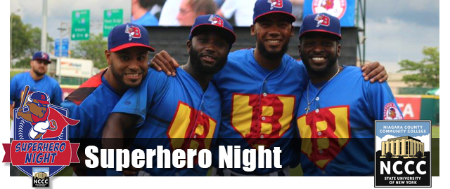 Bisons Superhero Night