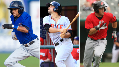 Billy Hamilton, Nick Castellanos and Mike Olt combined for 184 RBIs in 2012.