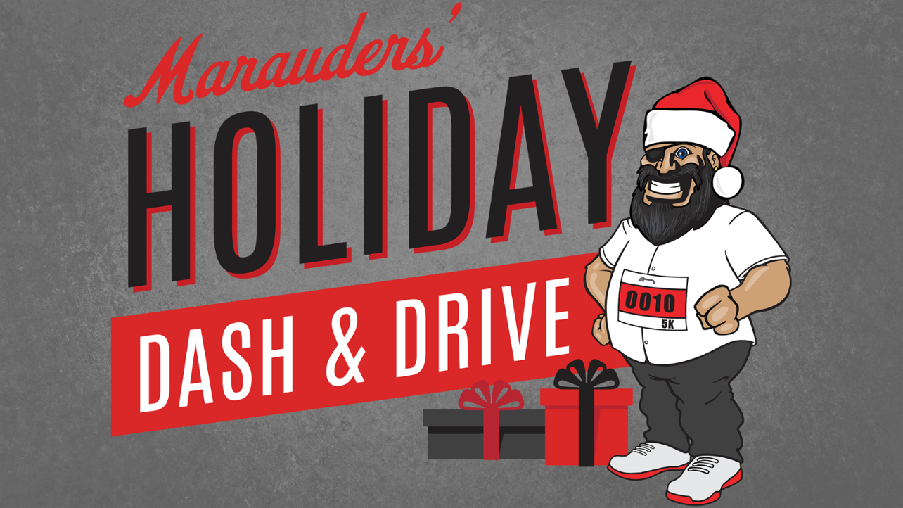 Register now for the Holiday Dash & Drive!