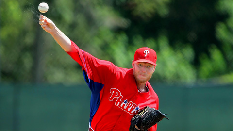 Roy Halladay has thrown six innings in each of his two rehab starts.