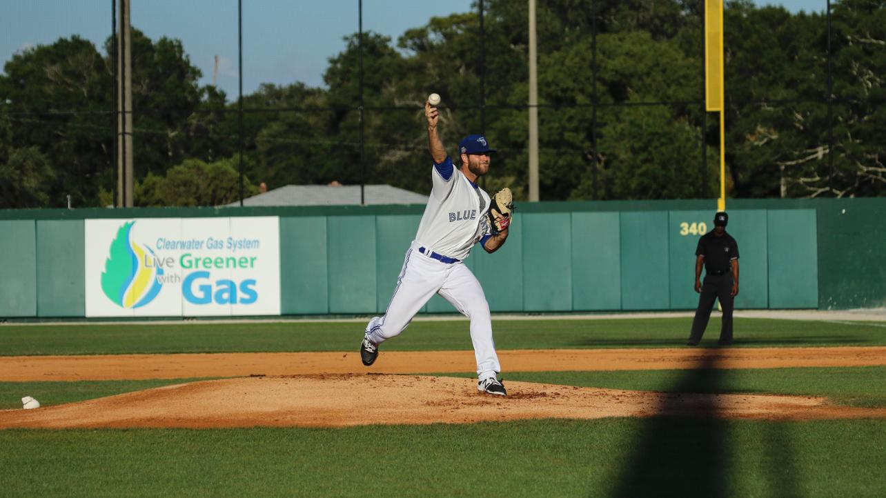 Turner Larkins Picks Up His Second Win of the Season in 6-2 Game