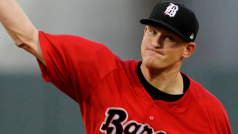 Erik Johnson ranks among the Southern League leaders in WHIP, ERA and strikeouts.