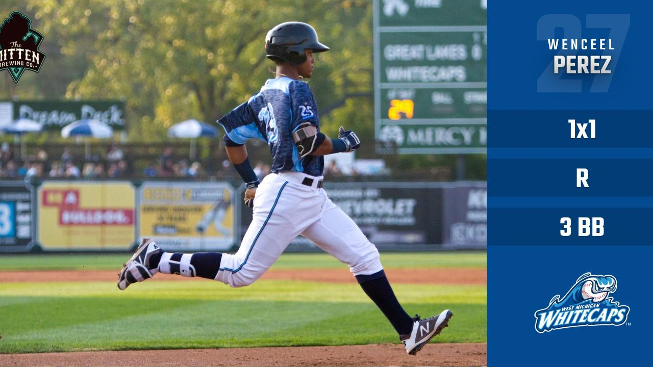 News West Michigan >> Caps Run Over By Hot Rods West Michigan Whitecaps News