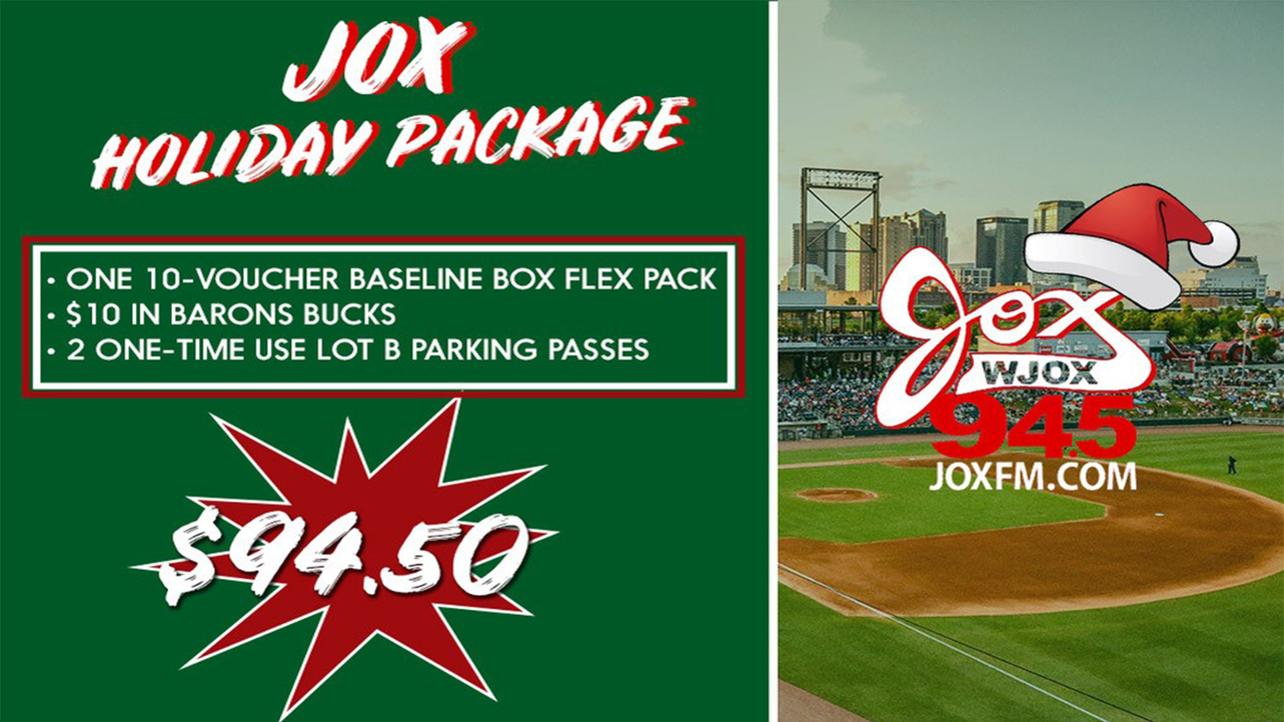 JOX Holiday Ticket Package Now on Sale!