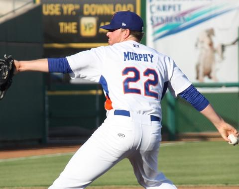Sean Murphy labored through 2 and 2/3 innings on Friday night