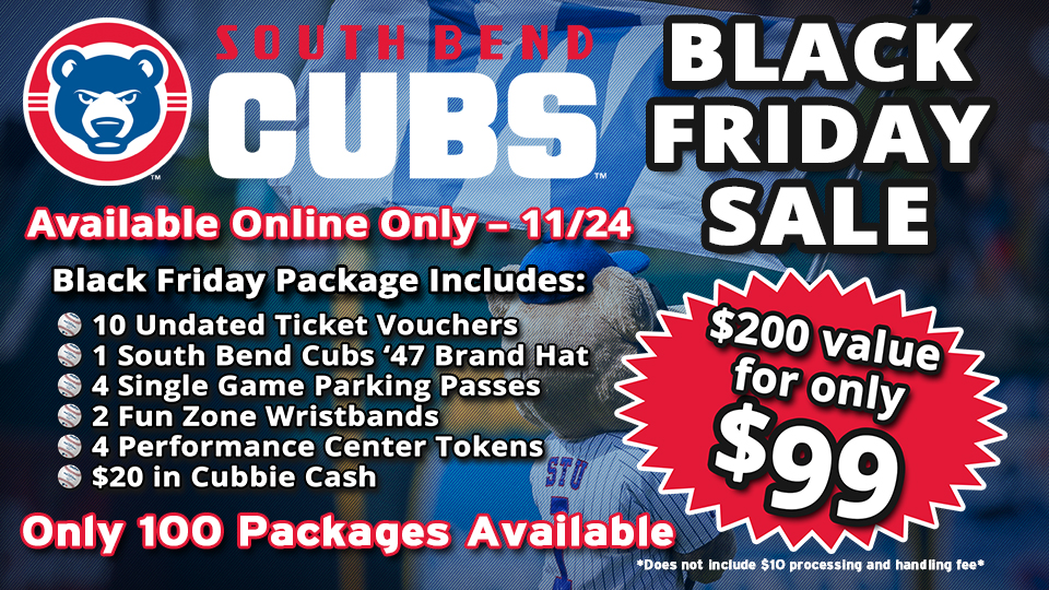 c7f0d302f5d680 In addition to the annual Black Friday Ticket Package, the Cubs Den Team  Store will also offer special Black Friday discounts.