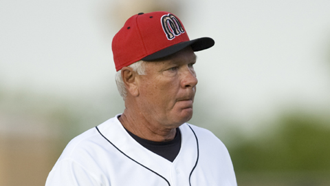 Billings Mustangs pitching coach Bob Forsch.