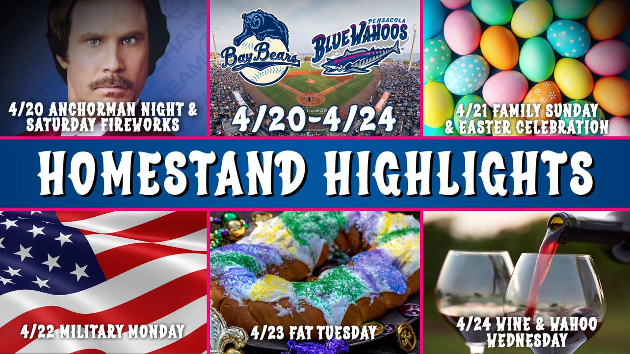 Homestand Highlights 2