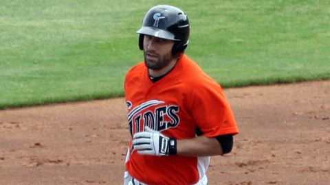 Russ Canzler's 10th inning home run powered the Tides past Syracuse and to Norfolk's fifth consecutive series win.