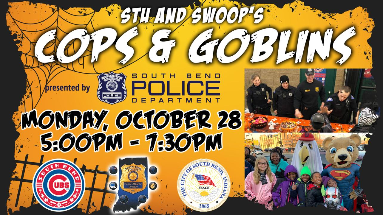 South Bend Cubs Host Trick or Treat Event on October 28