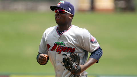 Miguel Sano is leading the FSL with a .655 slugging percentage in 56 games.